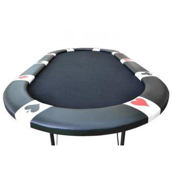 Pokerový stůl BLACK EDITION pro 10 lidí D31187