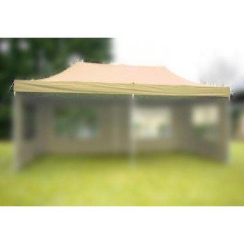 Náhradní střecha na zahradní skládací stan 3 x 6 m champagne D31248