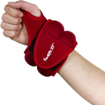 MOVIT neoprenová kondiční zátěž 1,0 kg, červená M33073