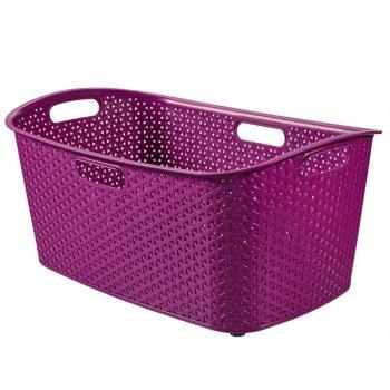 Koš na prádlo MY STYLE 47 l - fialový CURVER R32819