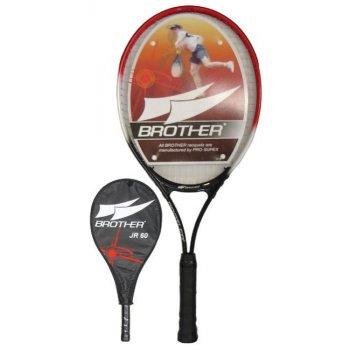 Pálka tenisová dětská 60, 65 cm s pouzdrem