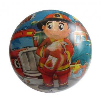 Potištěný míč 230 mm  - potisk hasič
