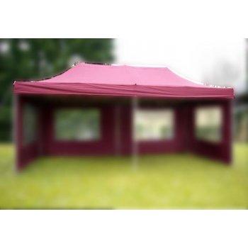 Náhradní střecha k party stanu 3 x 6 m, vínově červená D02671