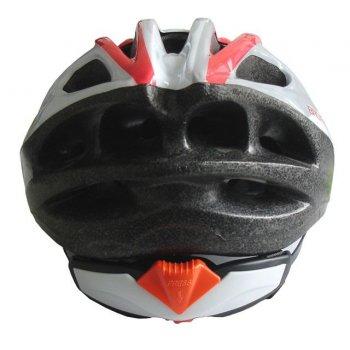 Cyklistická helma  bílá/černá velikost M