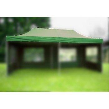 Náhradní střecha k nůžkovému stanu 3 x 6 m, zelená D06315