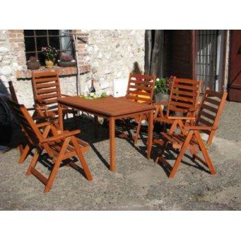 Zahradní dřevěný stůl SORRENTO FSC