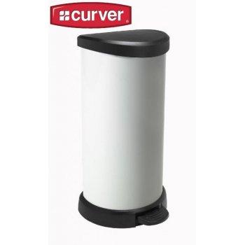 Odpadkový koš pedálový DECOBIN 40l - vintage CURVER R31324
