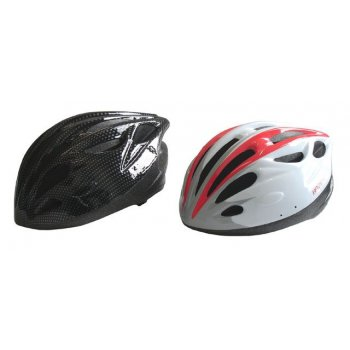 Cyklistická helma červená/černá L AC09423