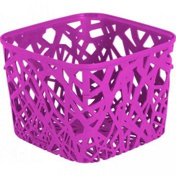 Plastový košík NEO SQUARE - fialový CURVER