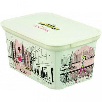 Úložný box DECO - S - Miss New York CURVER R32333