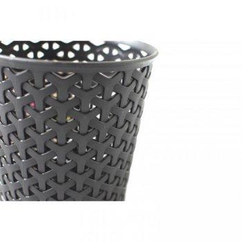 Plastový úložný kelímek Y STYLE - L- černý CURVER