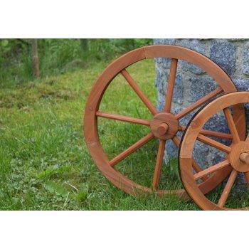 Dřevěné kolo Garth 45 cm - stylová rustikální dekorace