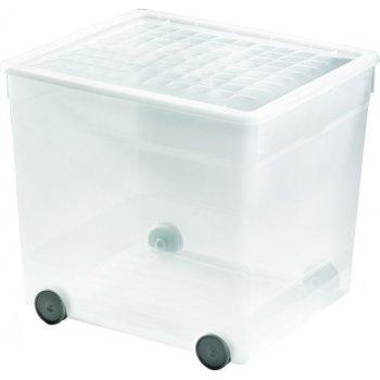 Úložný plastový box 33L s kolečky CURVER R41133