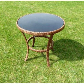 Zahradní stolekl RATAN ø 80cm R41185