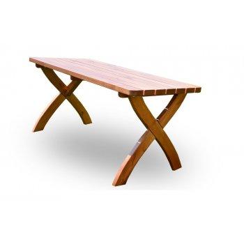 Zahradní dřevěný stůl STRONG - 160 cm R41256