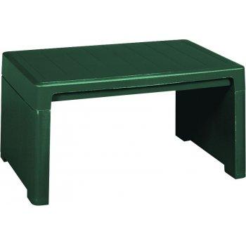 Zahradní plastový stolek LAGO LOUNGE SIDE zelený
