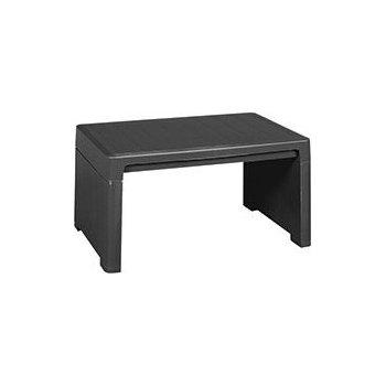 Zahradní plastový stolek LAGO - grafit R41403