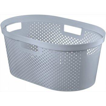 Koš na čisté prádlo - šedý 39L CURVER