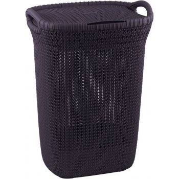 Koš na špinavé prádlo 57L - fialový CURVER R41082