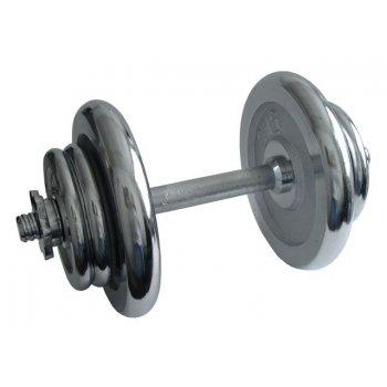 Činka nakládací, jednoruční, chromová - 17 kg AC04560
