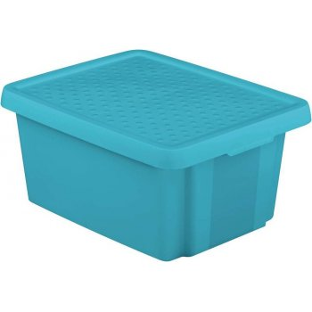 Úložný box s víkem 20L - modrý CURVER