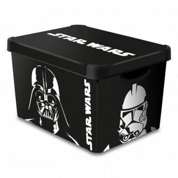 Úložný box s víkem - L - STAR WARS CURVER R41129