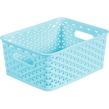 Košíček box - S - modrý CURVER