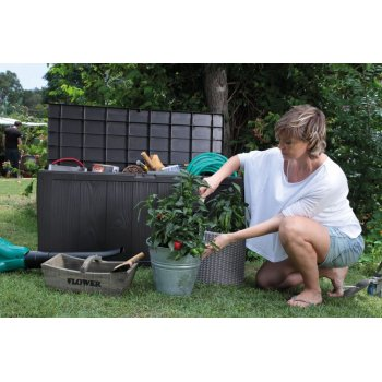 Zahradní úložný box SHERWOOD - 270L