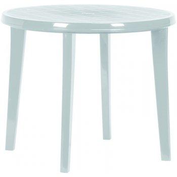 Zahradní plastový stůl LISA - světle šedá R41310