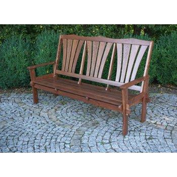 Zahradní dřevěná lavice MORENO R41254
