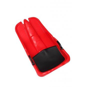 Superjet plastový bob - červený AC28063