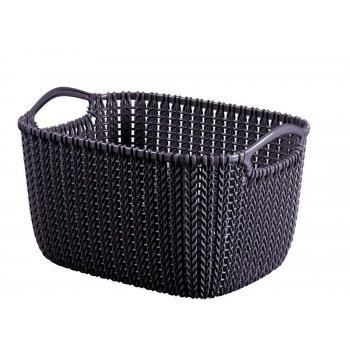 Úložný koš box na hračky a drobnosti - M - fialová CURVER R41159