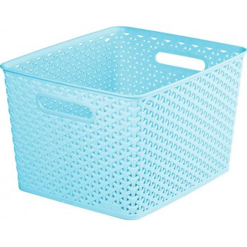 Košík plastový box - L - modrý CURVER R41156