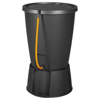 Plastový sud na dešťovou vodu INDIGO WATER - grafit R41316