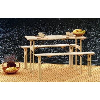 Zahradní dřevěný set R41322