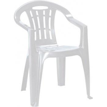 Zahradní plastové křeslo MALLORCA - světle šedé
