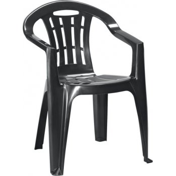 Zahradní židle MALLORCA - grafit R41393
