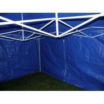 Zahradní párty stan CLASSIC nůžkový + boční stěny II. - 3 x 4,5 m modrá