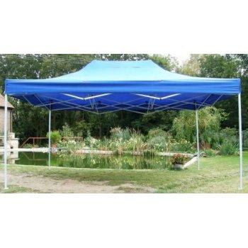 Zahradní párty stan CLASSIC nůžkový - 3 x 4,5 m modrý JL40980