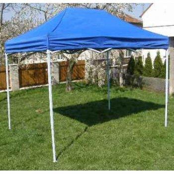 Zahradní párty stan CLASSIC nůžkový - 3 x 2 m modrý JL40970