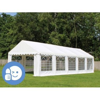Zahradní párty stan ECONOMY 6 x 12 m - bílá JL41532