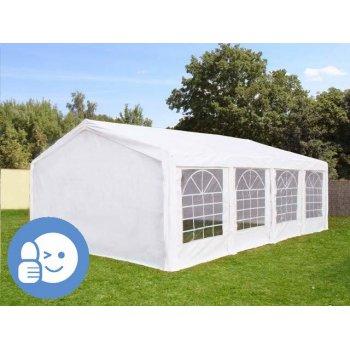Zahradní párty stan ECONOMY 5 x 8 m - bílá JL41531