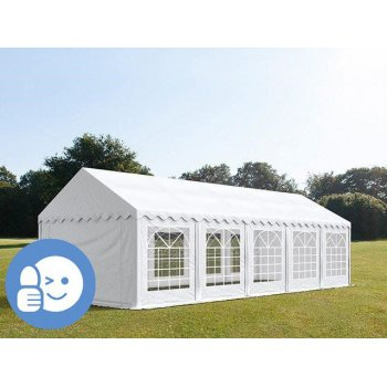 Zahradní párty stan ECONOMY 5 x 10 m - bílá JL41530