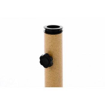 Podstavec na slunečník růžový mramor - 10 kg