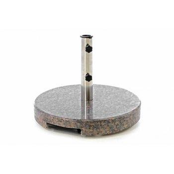 Stojan na slunečník kruhový žula - 35 kg D40738