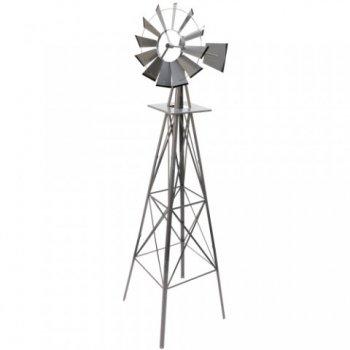 Větrný mlýn stříbřitě šedá, 245 cm M02660