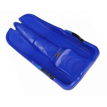 Plastový bob Turbojet - modrý