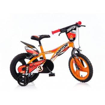 Kolo dětské kolo Dino 14 oranžové