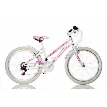 Dívčí sportovní kolo Dino 24 růžové