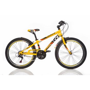 Chlapecké sportovní kolo Dino 24 žluté AC40927